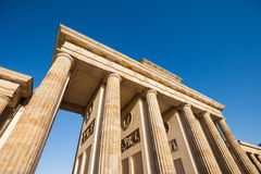 Berlin's Brandenburger Tor Royalty Free Stock Photography