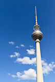 Berlin's broadcasting tower Stock Photo