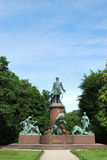 Berlin's Tiergarten Royalty Free Stock Photo