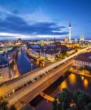 Berlin Scene Stock Photo