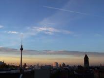 Berlin se réveillant Images libres de droits