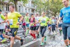 Berlin - 27. September 2015 Marathon Berlin Stockfotografie