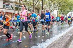 Berlin - September 27, 2015 marathon berlin Royalty Free Stock Images
