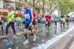Berlin - September 27, 2015 marathon berlin Stock Photography