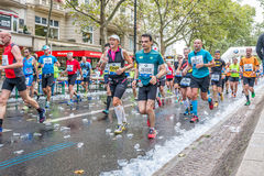 Berlin - September 27, 2015 marathon berlin Royalty Free Stock Photo