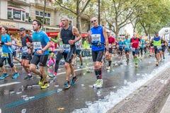 Berlin - September 27, 2015 marathon berlin Stock Photos