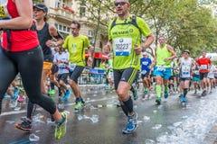 Berlin - September 27, 2015 marathon berlin Stock Images