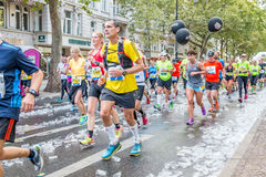 Berlin - September 27, 2015 marathon berlin Royalty Free Stock Image