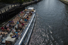 Berlin ship Royalty Free Stock Images