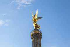 Berlin, Siegessaeule, Victory Column Stock Photo