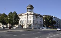 Berlin, Sierpień 27: Historycznych budynków krajobraz od Berlin w Niemcy Zdjęcia Stock