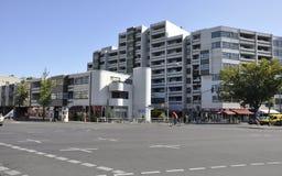Berlin, Sierpień 27: Luksusowy mieszkanie dom od Berlin w Niemcy Obrazy Stock