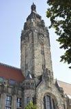 Berlin, Sierpień 27: Wierza Charlottenburg Wilmersdorf Rathaus w Berlin Obraz Royalty Free