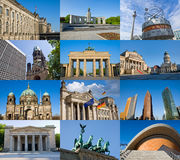 Berlin sights Royalty Free Stock Images