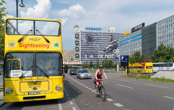 Berlin sightseeing bus Royalty Free Stock Images