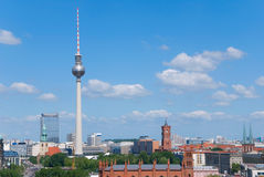 Berlin skyline Stock Photos