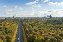 Berlin skyline Stock Photos