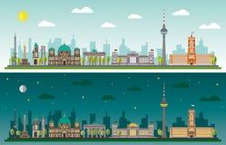 Berlin Skyline Fotografia Stock Libera da Diritti