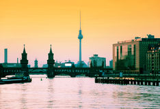 Berlin skyline Stock Photography