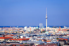 Berlin skyline Royalty Free Stock Images