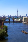 Berlin skyline RF Royalty Free Stock Image