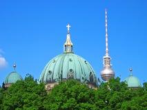 Berlin Skyscape imagenes de archivo
