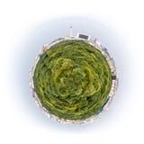 Berlin som en planet Arkivfoto
