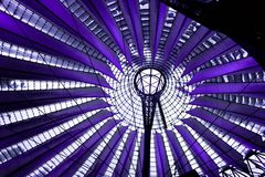 Berlin Sony Center Royalty Free Stock Photo