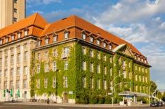 Berlin-Spandau Town Hall (Rathaus Spandau), Germany Stock Photo