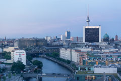 Berlin Spree River Stock Photography