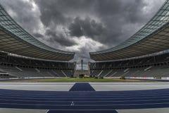 Berlin stadium Stock Photography