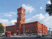 berlin stadshus Arkivbild