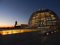 Berlin-Stadt scape lizenzfreie stockbilder