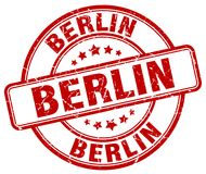 Berlin Stamp Photo libre de droits