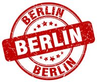 Berlin Stamp Photos stock