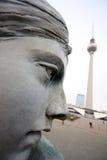 berlin statua Fotografia Royalty Free