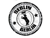Berlin-Stempel lizenzfreie abbildung