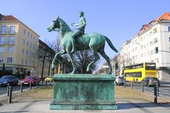 Berlin Steuben Place Royalty Free Stock Photos