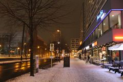 Berlin Street Image libre de droits