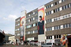 Berlin Street Art Love stock photography