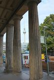 Berlin Street Scene Foto de archivo libre de regalías