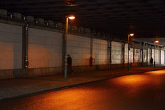 Berlin Street Scene Fotografie Stock Libere da Diritti