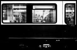 Berlin streetcar royaltyfri bild