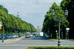 Berlin Streets Fotografia de Stock