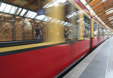 Berlin Subway Stock Image