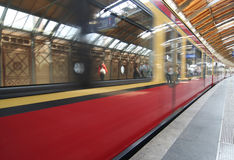 Berlin Subway Stock Photography