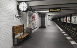 Berlin subway Stock Photo