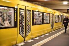 Berlin subway station Royalty Free Stock Photo