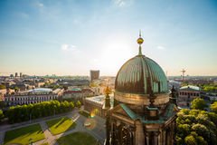 Berlin Summer, Berliner Dom and Altes Museum Stock Images