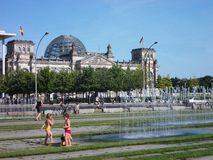 Berlin  in Summer Stock Image